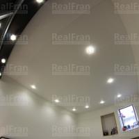 фото потолка с подсветкой матовый