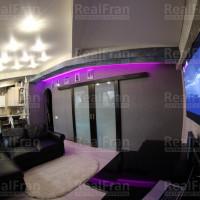 матовый потолок со светодиодной подсветкой