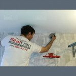 Тканевый  потолок в спальню - 1 м.2