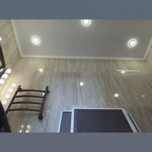 Матовый потолок в ванную - 1 м.2