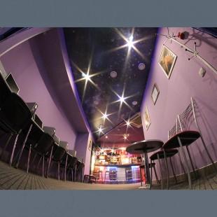 Натяжные потолки фотопечать ночное небо с установкой 1м2