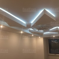 Натяжной потолок 3D фигуры