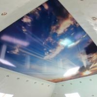 Потолок с фотопечатью небо
