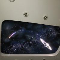 Звездное небо с анимацией оптоволокно и проектор