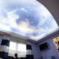 Звездное небо фотопечать с подсветкой