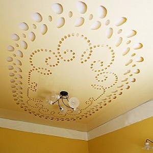 Потолки  с 3D перфорацией