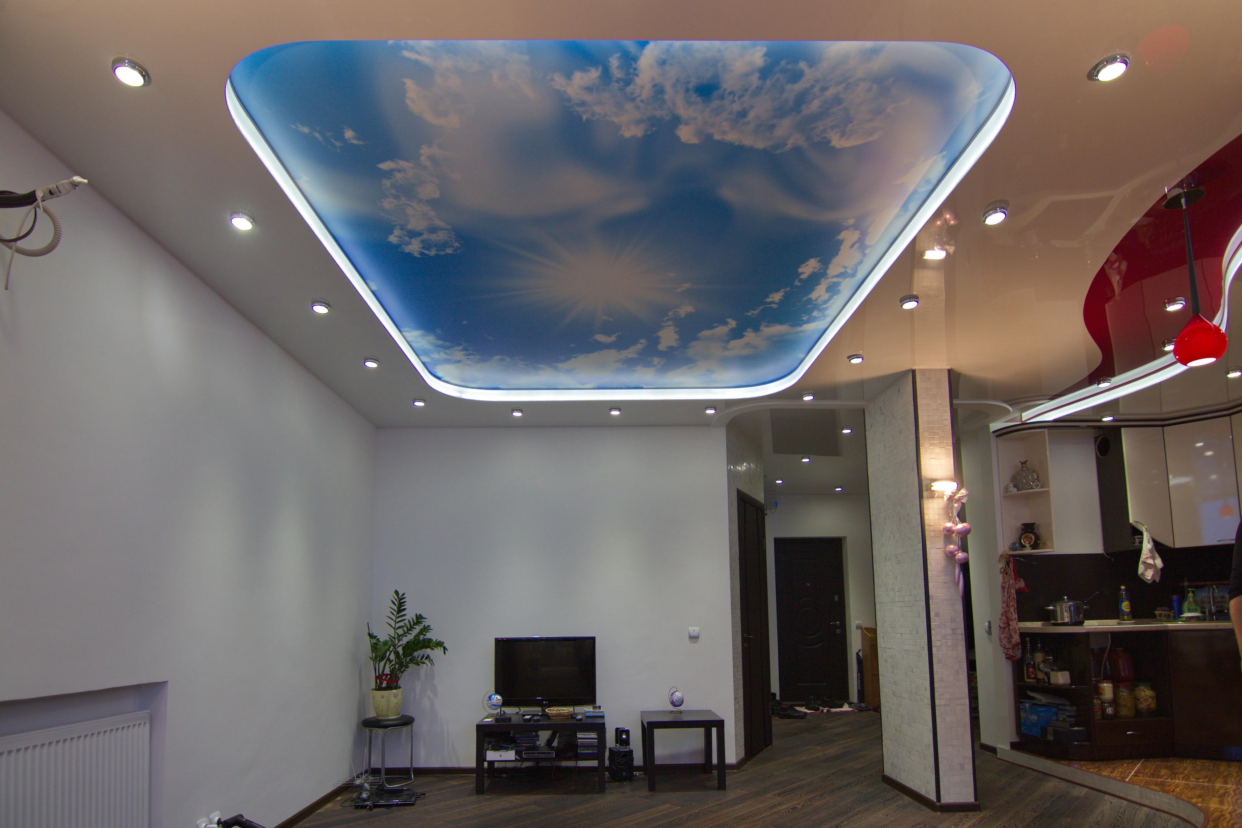 Фото двухуровневых потолков их дизайн