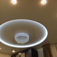 Круглый потолок со светодиодной подсветкой