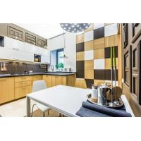 Транслюцентный натяжной потолок для проекта Школа Ремонта - Кухня с ароматом кофе