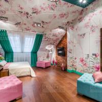 индивидуальный сатиновый натяжной потолок