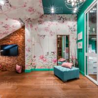 сатиновый потолок по индивидуальному заказу