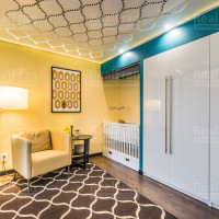 глянцевый потолок 3D со светодиодным освещением
