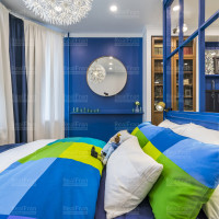 точечное освещение в комнату с натяжным потолком