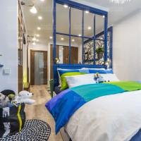 матовый натяжной потолок в спальную комнату