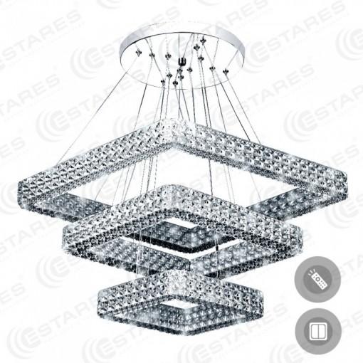 Управляемый светодиодный светильник AKRILIKA 80W 3S-555-CLEAR-220-IP20