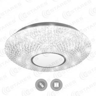 Управляемый светодиодный светильник AKRILIKA 32W R-410-CLEAR/WHITE-220-IP2