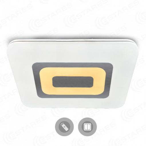 Управляемый светодиодный светильник QUADRON DOUBLE 136W L-800/600-WHITE-220-IP44