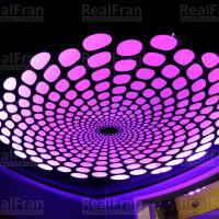 потолок с 3D имитацией и подсветкой