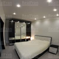 натяжной потолок для спальной комнаты матовый