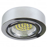 003134 Светильник MOBILED LED 3.5W 270LM 90G ХРОМ 3000K (в комплекте)