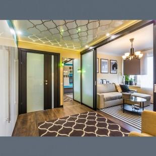 Натяжной потолок 3D перфорация  - 1 м.2
