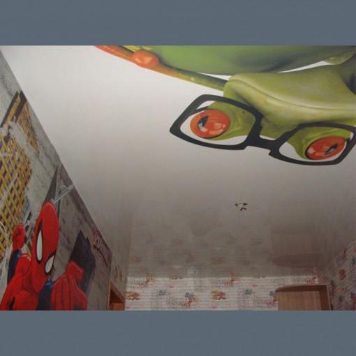 Глянцевый фото потолок в детскую - 1 м.2