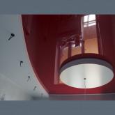 Двухуровневый натяжной потолок фигурный с установкой 1м2