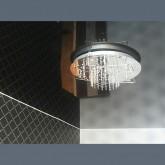 Лаковый чёрный потолок  - 1 м.2