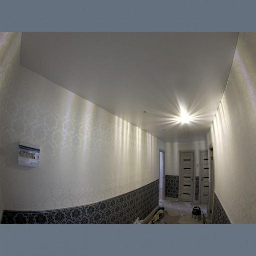 Матовые натяжные потолки в прихожую с установкой 1м2