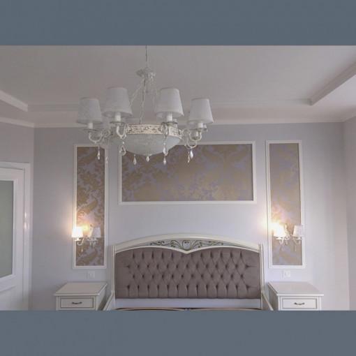 Матовый потолок в спальню  - 1 м.2