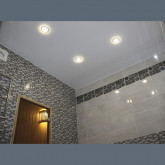 Потолок глянцевый в ванную - 1 м.2