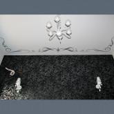 Потолок с фотопечатью в спальню  - 1 м.2