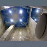 Потолок с фотопечатью в ванную  - 1 м.2