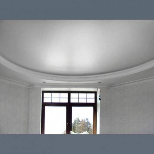 Сатиновый натяжной потолок с уровнем  - 1 м.2