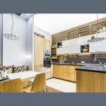 Сатиновый натяжной потолок на кухню - 1 м.2