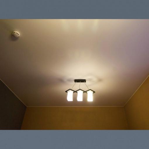 Сатиновый натяжной потолок в прихожую - 1 м.2