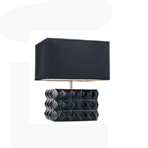 1259 Светильник настольный Truhe T1 BK, E27, 1х100 Вт, 40х32х25,5, черный