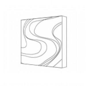 3D панели из гипса