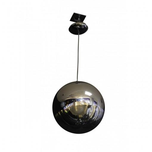 1095 Светильник подвесной Raumschiff C1, Е27, 1х60 Вт, 200 (макс)х20, прозрачный, хром