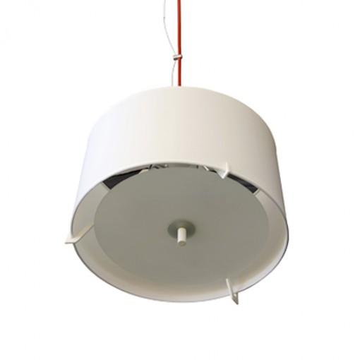 1122 Светильник подвесной Wolke C2, E27, 3х60 Вт, 200 (макс)х50, белый
