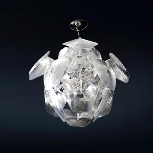 1005 Светильник подвесной Blume C1, Е27, 1х60 Вт, 150х60, прозрачный