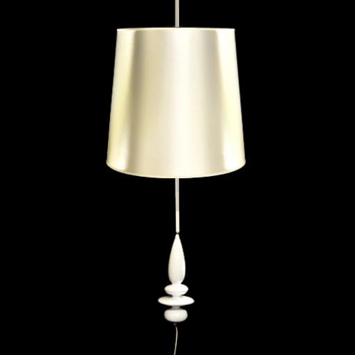 1022 Светильник подвесной Krone C, Е27, 1х100 Вт, 150х47, белый