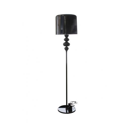 1025 Светильник напольный Eleganz F2, E27, 1х100 Вт, 176х40, черный