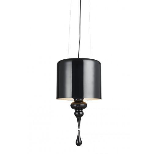 1027 Светильник подвесной Eleganz C1, E14, 3х40 Вт, 58х30, черный