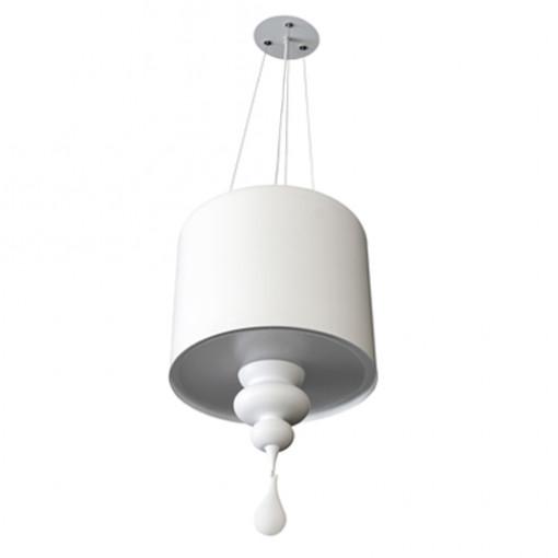 1028 Светильник подвесной Eleganz C2, E14, 3х40 Вт, 74х40, белый