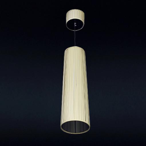 1042 Светильник подвесной Volumen C1, E27, 1х, 150х20, желтый
