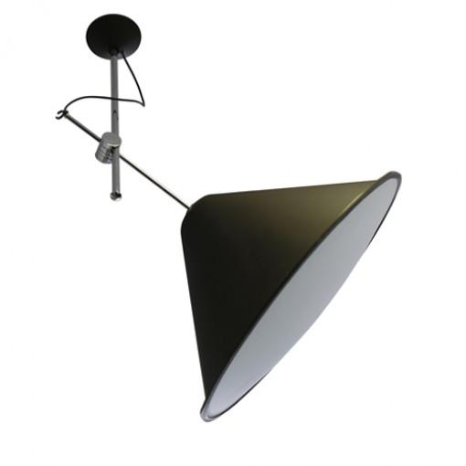 1067 Светильник потолочный Triumph C6, E27, 1х, 150х73, черный