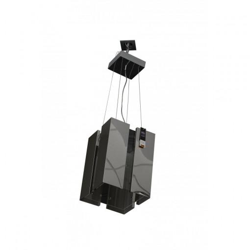 1075 Светильник подвесной Raum C3, E14, 3х, 150х15х69, серебро