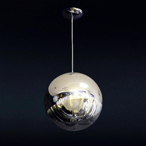 1097 Светильник подвесной Raumschiff C3, E27, 1х60 Вт, 200 (макс)х30, прозрачный, хром