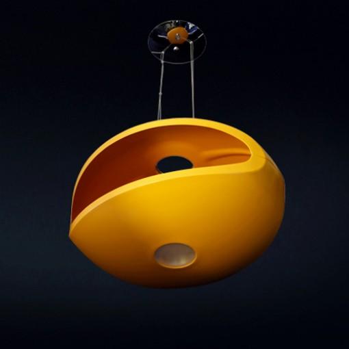 1167 Светильник подвесной Kringel C OR, R7S, 1х150 Вт, 200х56х42,5, оранжевый